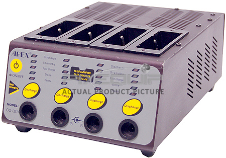 NiCad/NiMH Battery Fast Charger/Discharger
