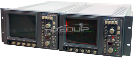 Dual Rackmount NTSC Waveform/Vector Monitors