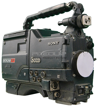3 CCD Video Camcorder Betacam SP -As-Is