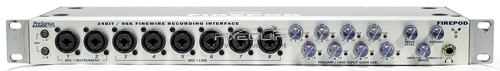 24Bit 96K Firewire Recording Interface